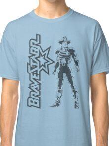 BraveStarr - Marshall BraveStarr - Black Line Art Classic T-Shirt