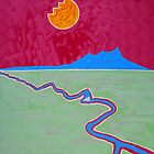 Taos Mesa original painting by CrowRisingMedia