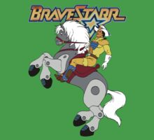 BraveStarr - Thirty Thirty and BraveStarr  - Color by DGArt
