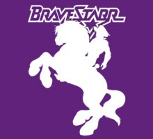 BraveStarr - Thirty Thirty and BraveStarr  - Solid White - Shadow Art by DGArt