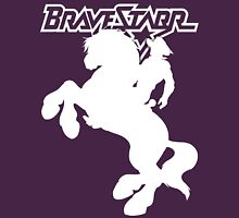 BraveStarr - Thirty Thirty and BraveStarr  - Solid White - Shadow Art Unisex T-Shirt