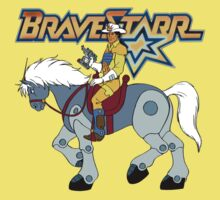 BraveStarr - Thirty Thirty and BraveStarr #2  - Color One Piece - Short Sleeve
