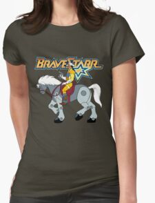 BraveStarr - Thirty Thirty and BraveStarr #2  - Color Womens Fitted T-Shirt