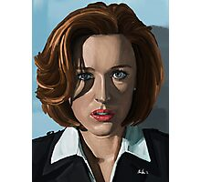 Gillian Anderson Photographic Print