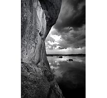 One Sided BW Photographic Print