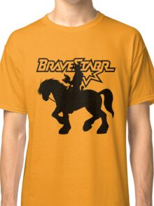 BraveStarr - Thirty Thirty and BraveStarr #2  - Solid Black - Shadow Art Classic T-Shirt