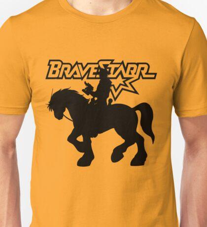 BraveStarr - Thirty Thirty and BraveStarr #2  - Solid Black - Shadow Art Unisex T-Shirt