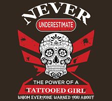 Tattooed Girl Womens Fitted T-Shirt