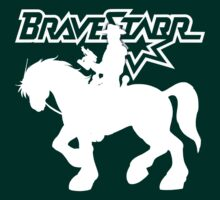 BraveStarr - Thirty Thirty and BraveStarr #2  - Solid White - Shadow Art by DGArt