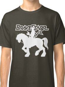 BraveStarr - Thirty Thirty and BraveStarr #2  - Solid White - Shadow Art Classic T-Shirt
