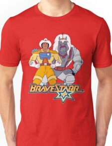 BraveStarr - Thirty Thirty and BraveStarr #3  - Color Unisex T-Shirt