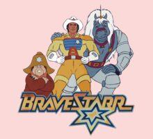 BraveStarr - Thirty Thirty, Fuzz and BraveStarr - Color One Piece - Short Sleeve
