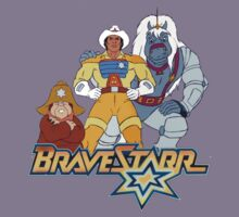 BraveStarr - Thirty Thirty, Fuzz and BraveStarr - Color Kids Clothes