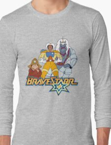 BraveStarr - Thirty Thirty, Fuzz and BraveStarr - Color Long Sleeve T-Shirt