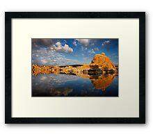 The Lighter Side-Color Framed Print