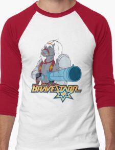 BraveStarr - Thirty Thirty and Sara Jane - Color Men's Baseball ¾ T-Shirt