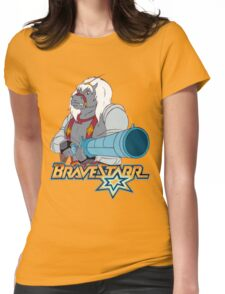 BraveStarr - Thirty Thirty and Sara Jane - Color Womens Fitted T-Shirt
