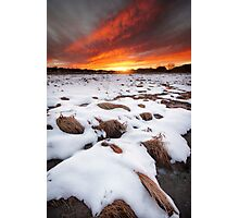 Fire and Ice Photographic Print