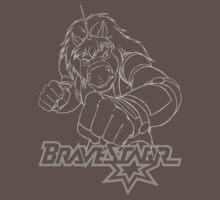 BraveStarr - Thirty Thirty - White Line Art by DGArt