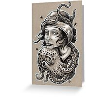Octopus Hug Greeting Card