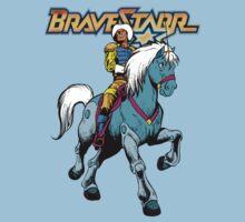 BraveStarr - Thirty Thirty and BraveStarr #4  - Color Kids Tee