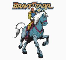 BraveStarr - Thirty Thirty and BraveStarr #4  - Color Kids Tee