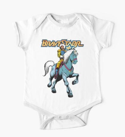 BraveStarr - Thirty Thirty and BraveStarr #4  - Color One Piece - Short Sleeve