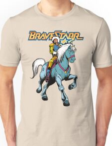 BraveStarr - Thirty Thirty and BraveStarr #4  - Color Unisex T-Shirt