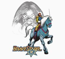 BraveStarr - Tex Hex, Thirty Thirty, and BraveStarr  - Color by DGArt