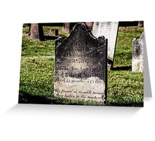 Standing the test of time, Alexandria , VA Greeting Card