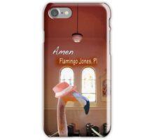 Flamingo Jones PI - Amen iPhone Case/Skin