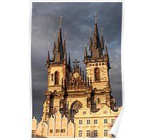 Church of Mother of God, Prague. Poster