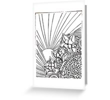 daydreaming Greeting Card