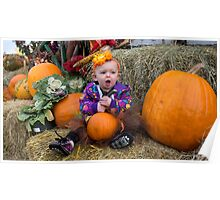 Pumpkins for Josephine Poster