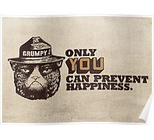Grumpy PSA Poster