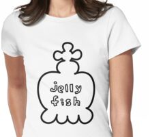 Princess Jellyfish Womens Fitted T-Shirt
