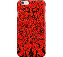Black and Red iPhone Case/Skin