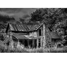 Old Tedrick Photographic Print
