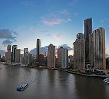 Panorama | Brisbane CBD by NickVerburgt