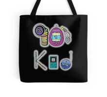 90's Kid in Midnight Black Tote Bag