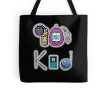 90's Kid in Midnight Black Tote Bag
