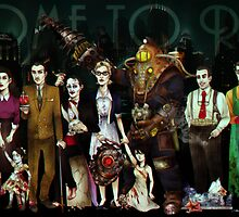 Bioshock Rapture  by beanspr0ut
