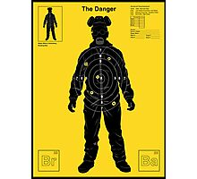 The Danger - Yellow Photographic Print