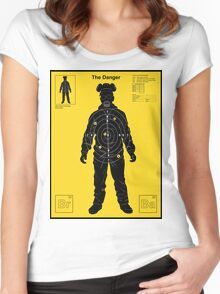 The Danger - Yellow Women's Fitted Scoop T-Shirt