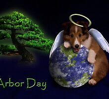 Arbor Day Angel Sheltie by jkartlife