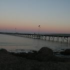 Fowler's Bay Jetty sunset. South Australia. by elphonline