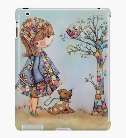 The Patchwork Tree iPad Case/Skin