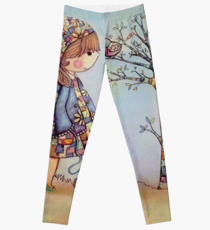The Patchwork Tree Leggings