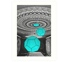 Dodecahedron Manifestation Art Print