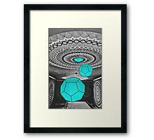 Dodecahedron Manifestation Framed Print